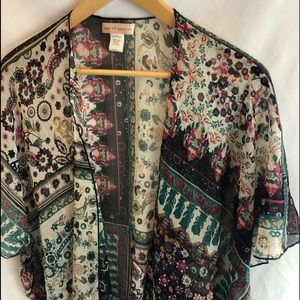 Band of Gypsies Kimono S/M wrap A31